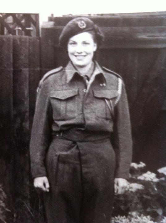 @I_W_M #WhatMyFamilyWore  my Grandma Olive Marshall  she was leading fire women Upminster  #W11