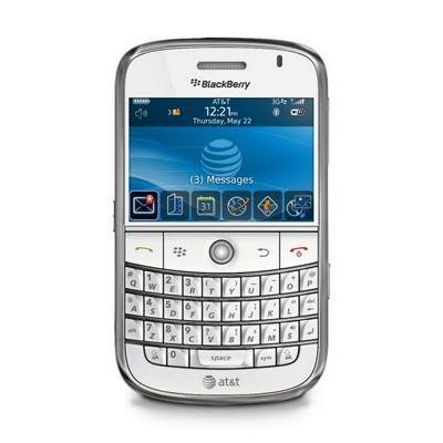 BlackBerry Bold (white) | AT&T