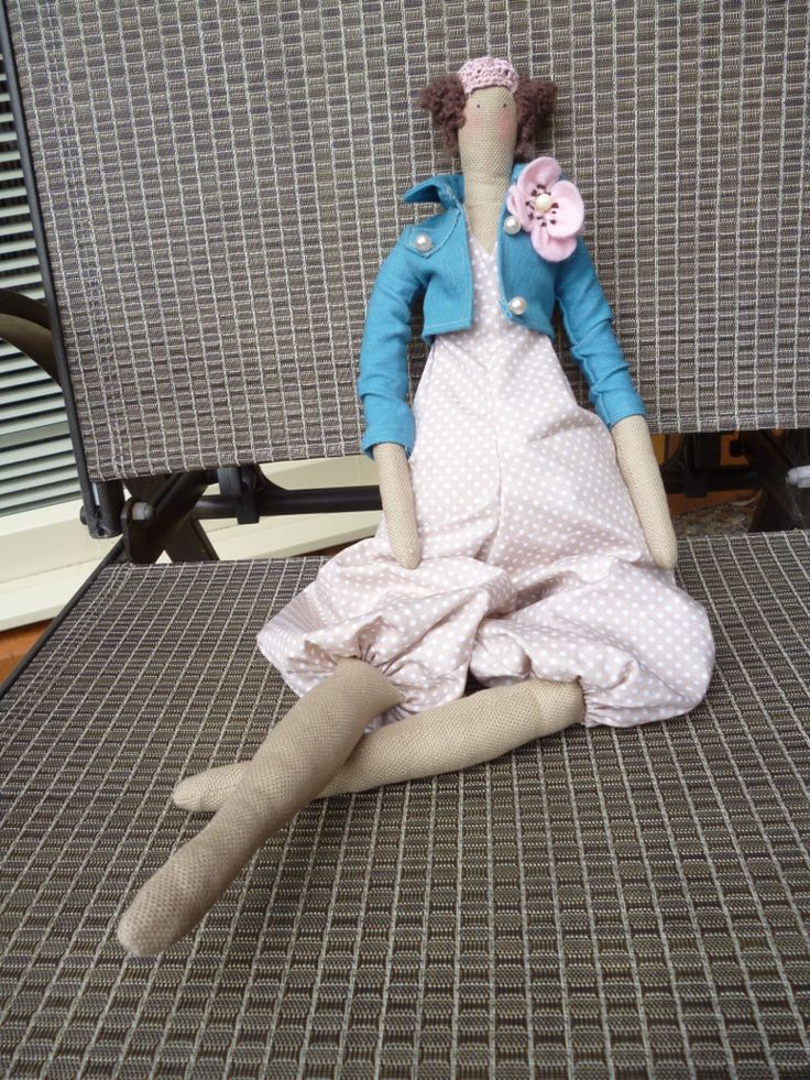 An inspired Tilda doll for my friend to say thank you xxxx