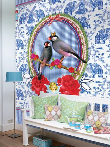 PiP Studio wallpaper. I'd love this, but it wouldn't make it through the front door.....;-)