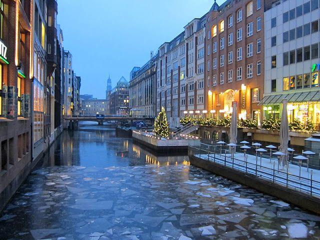 t.tally: Weihnachtszeit in Hamburg