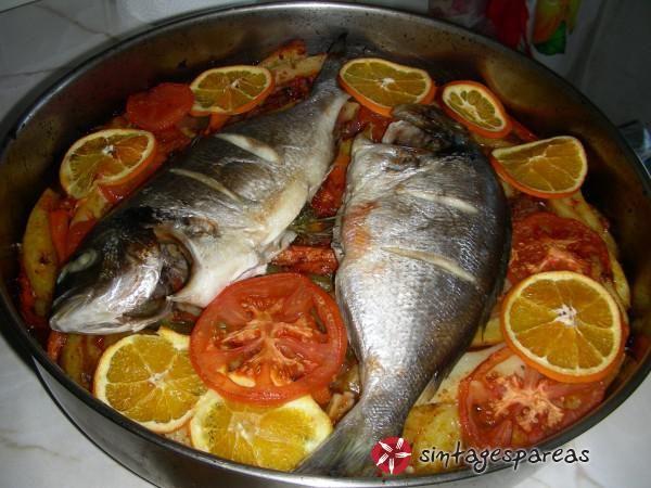 Ψάρι πλακί του Β. Καλλίδη #sintagespareas #psariplaki