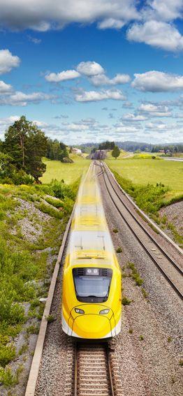 Arlanda Express – Rail link between Stockholm Central Station and Arlanda Airport