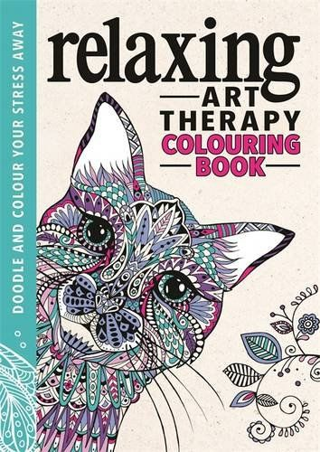 Relaxing Art Therapy An Anti Stress Colouring Book Amazoncouk