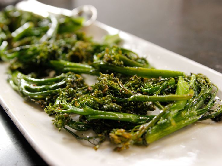 Cooking For Jeffrey Series of New Shows on Food NetworkRoasted Broccolini recipe from Ina Garten via Food Network