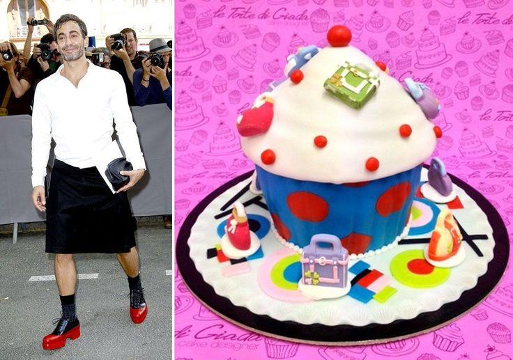 Che torta potrebbe ordinare, l'anno prossimo, Miss Victoria Beckham per il suo 40esimo compleanno? E quale dolce, la coppia tanto chiacchierata del momento