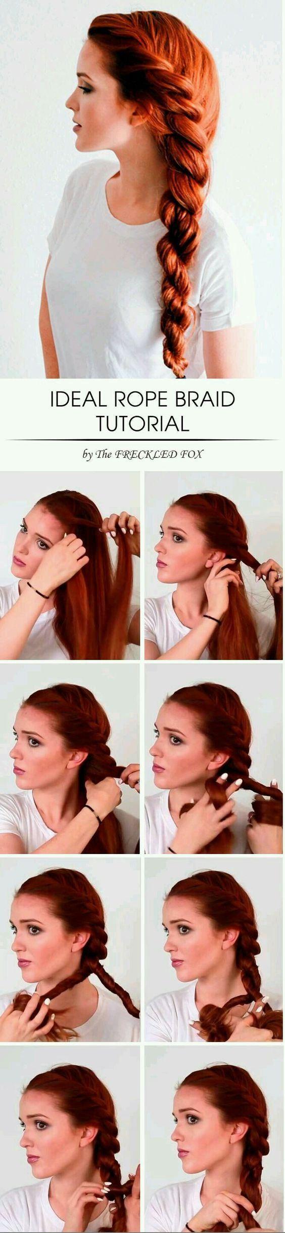 Easy hair tutorials for medium length hair