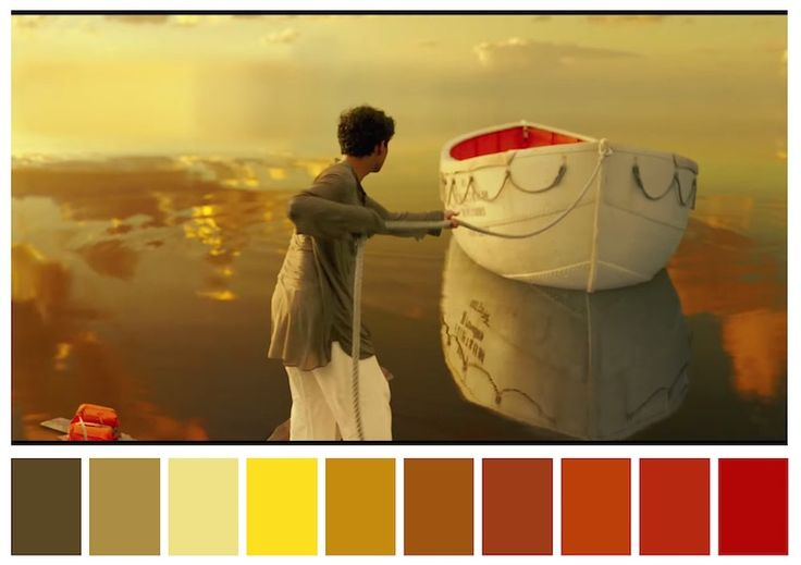 Cinema Palettes: Color palettes from famous movies - Life of Pi