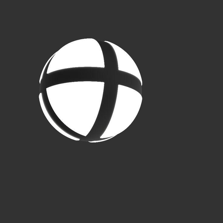 EA! logo - rendered in KeyShot by Eric Altorf