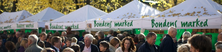 "Some Saturdays farmers visit the city and sell their delicious, local and ecological food at the Farmers market (""Bondens marked""). Where? The fish market. When? Click the pricture. Bergen, Norway."