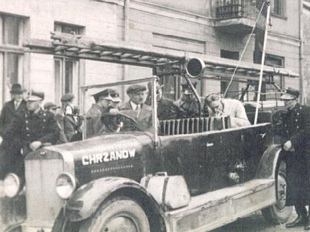 OSP Chrzanów, lata 30-te XX w.