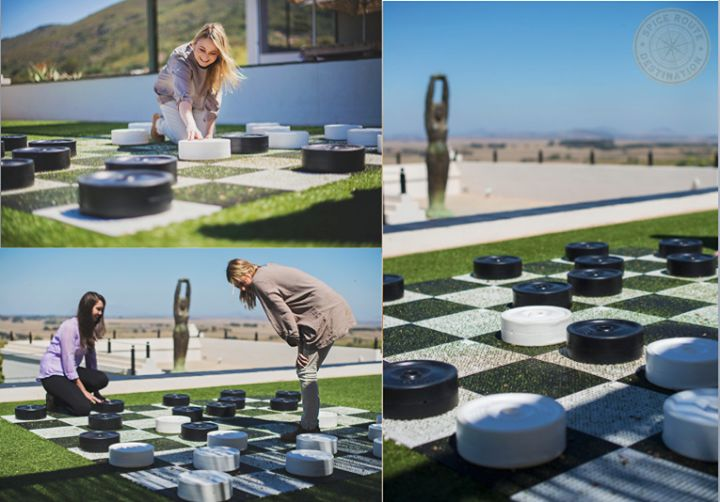 Important skills for playing a strong draughts game are spotting good moves! Make yours by visiting us this weekend! (Giant Draughts can be found just below Barley & Biltong). #BarleyBiltong #ViewOfKings #SpiceRoutePaarl