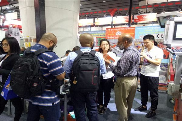 The 121th Canton Fair is hold in April,  the customers to attend this exhibition is more than last years. ← Click Left Image Read More ← Every day the peak time of the Canton Fair is 12:00-15:00, many customers come to our booth to inquiry our #roll #forming #machines.