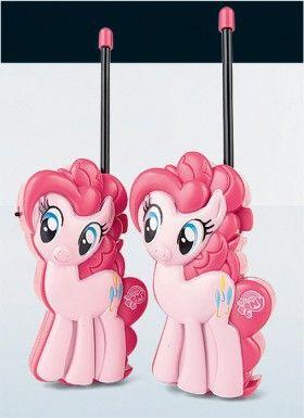 NEW My Little Pony Walkie-Talkie