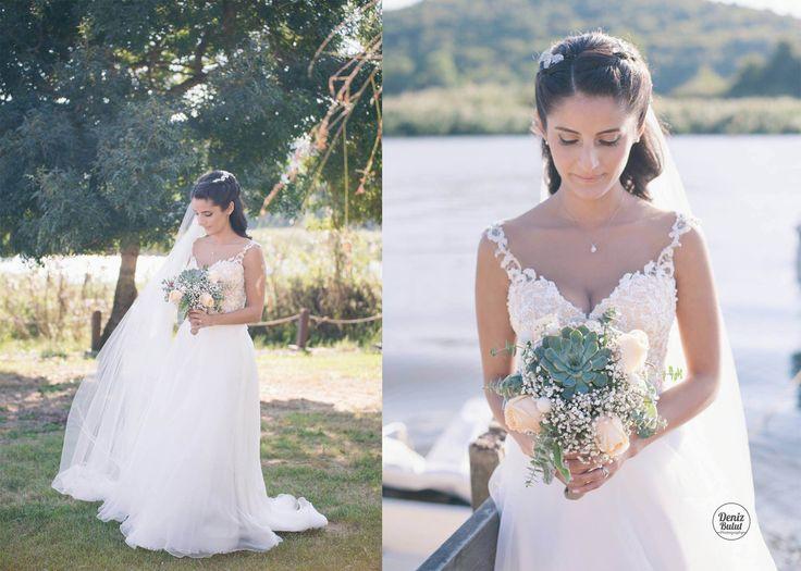 Succulent bride bouquet by Terraqua Design
