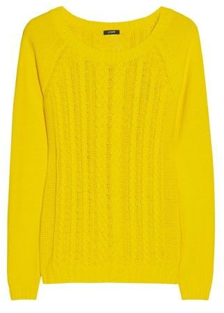J.Crew cable knit jumper, £80