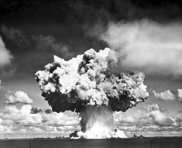 Operation Crossroads : 1946 : Bikini Atoll Underwater Explosion : Fine Giclee #Photograph