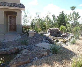 Delightful Is The Greater Albuquerque U2013 Santa Fe Areau0027s Top Landscaping Company For  Both Residential And Commercial Properties.