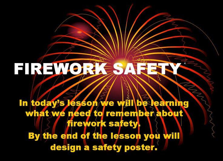 27 Best Firework Safety Images On Pinterest Firework
