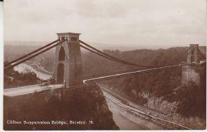 Unknown British Postcard - Clifton Suspension Bridge, Bristol 16