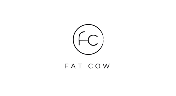 Fat Cow identity designed by Foreign Policy.