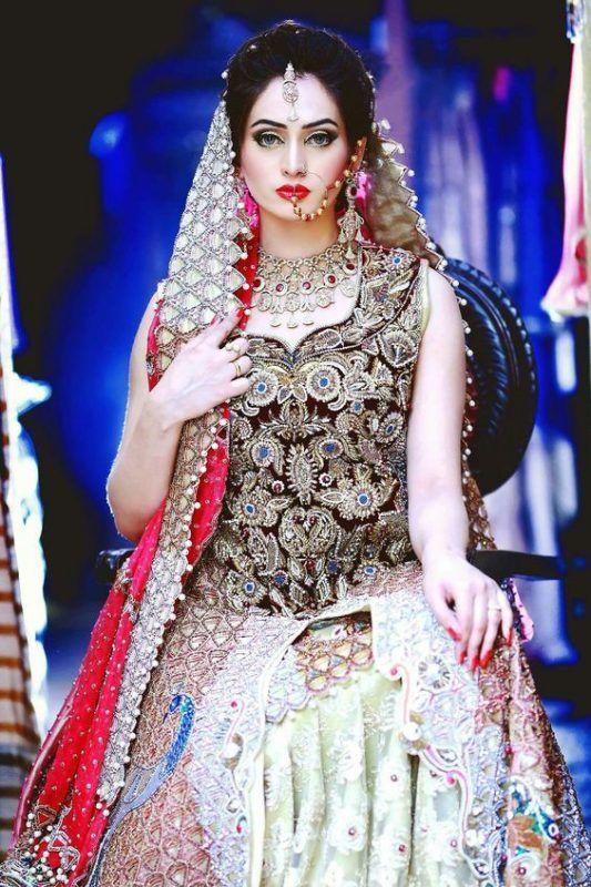 Latest Pakistani Bridal Wear Dresses