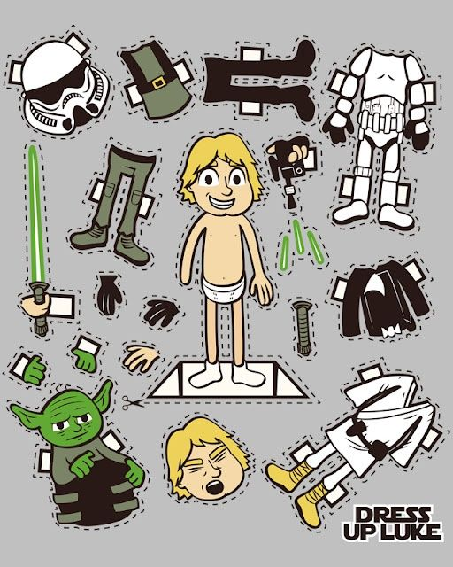 Found this to go along with our Star Wars theme of the week...absolutely awesome!  Love, Love, Love ♥♥♥♥ (GJK)