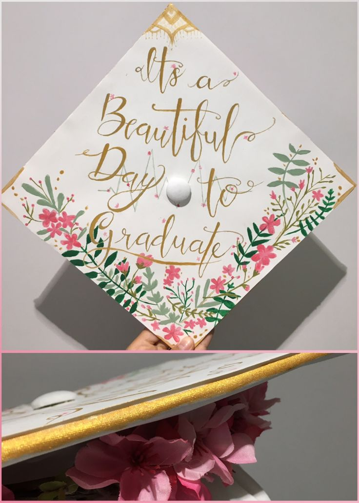 Graduation Cap Inspired By Grey's Anatomy