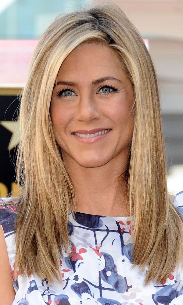 Long Choppy Layered Hairstyles | Jennifer Aniston with long layers - Layered Hairstyles | InStyle UK                                                                                                                                                      More
