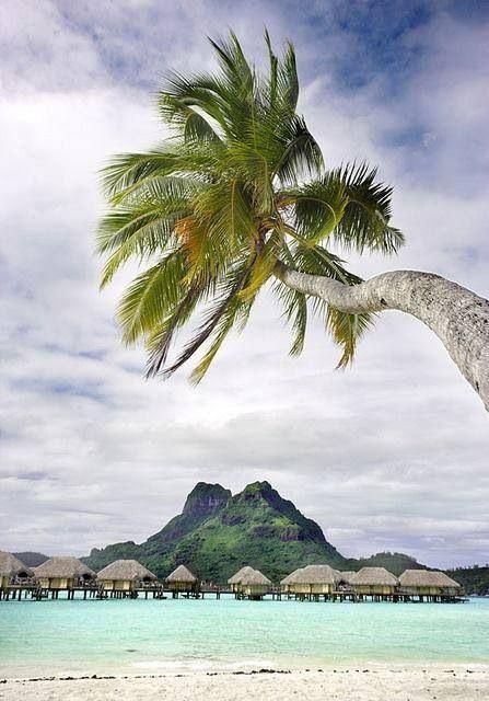 Bora Bora (via Impressive Places). Can't wait for the end of April