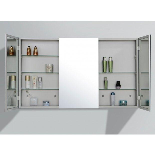 Shave cabinet 120cm Bath mirror