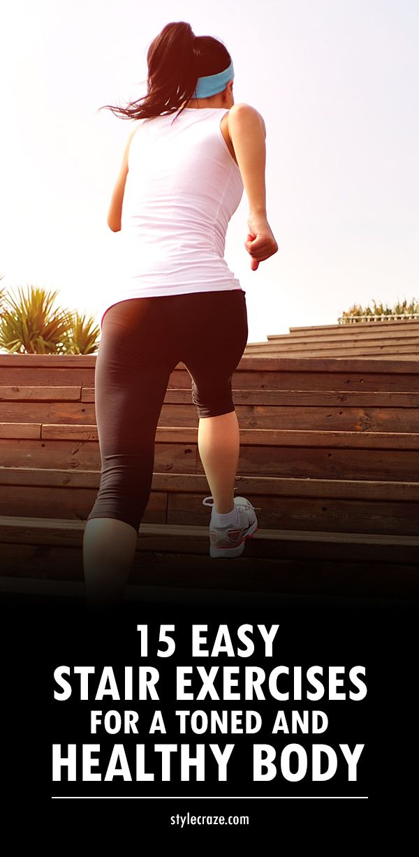 15 Best Easy Stair Exercises For A Toned And Healthy Body..