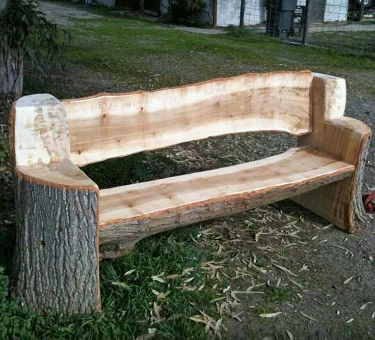 rustic homemade benches - Norton Safe Search