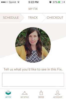 Stitch Fix App Happy. Love the new profile feature! Makes for a more personalized experience.