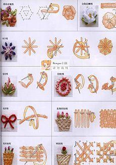 вышивка лентами мастер-класс - Самое интересное в блогах