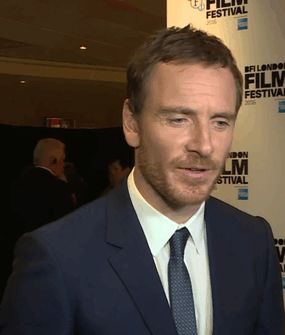 Michael Fassbender attends 'Trespass Against Us' screening during the 60th BFI London Film Festival at Haymarket Cinema on October 14, 2016 in London, England.