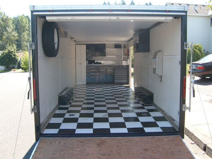 Pimped Out Enclosed Trailers Pelican Parts Technical Bbs Cargo Trailer Pinterest Cargo