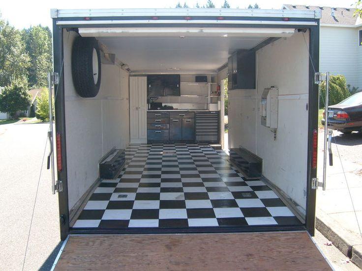 Man Cave Trailer : S g enclosed cargo trailer