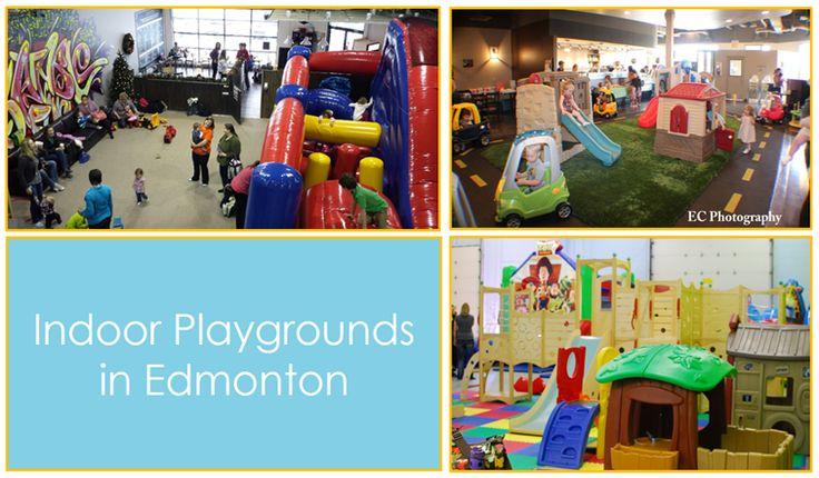 Indoor Playgrounds in Edmonton!