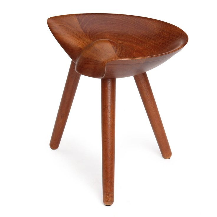 Stool by Mogens Lassen | From a unique collection of antique and modern stools at https://www.1stdibs.com/furniture/seating/stools/