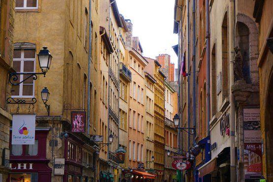 Rue Saint-Jean in Vieux Lyon