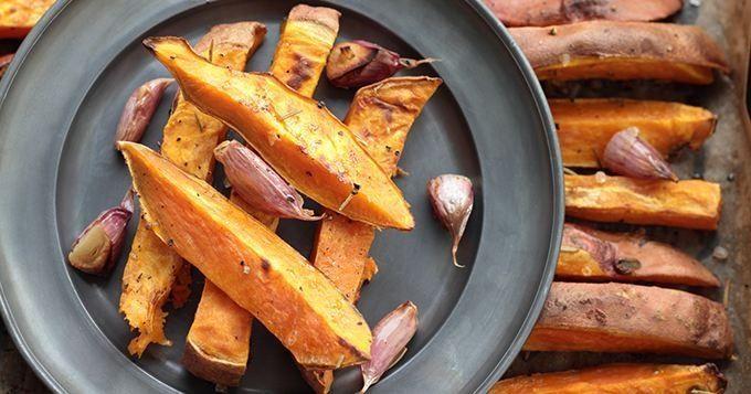 La frite de patate douce à grignoter sur le pouce - Cuisine AZ