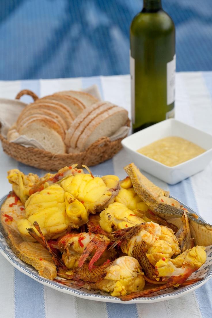 Famous Ibiza´s Bullit de Peix. Ibiza gastronomy