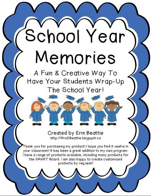 Kindergarten Memory Book Cover Printable : Best school memory books ideas on pinterest