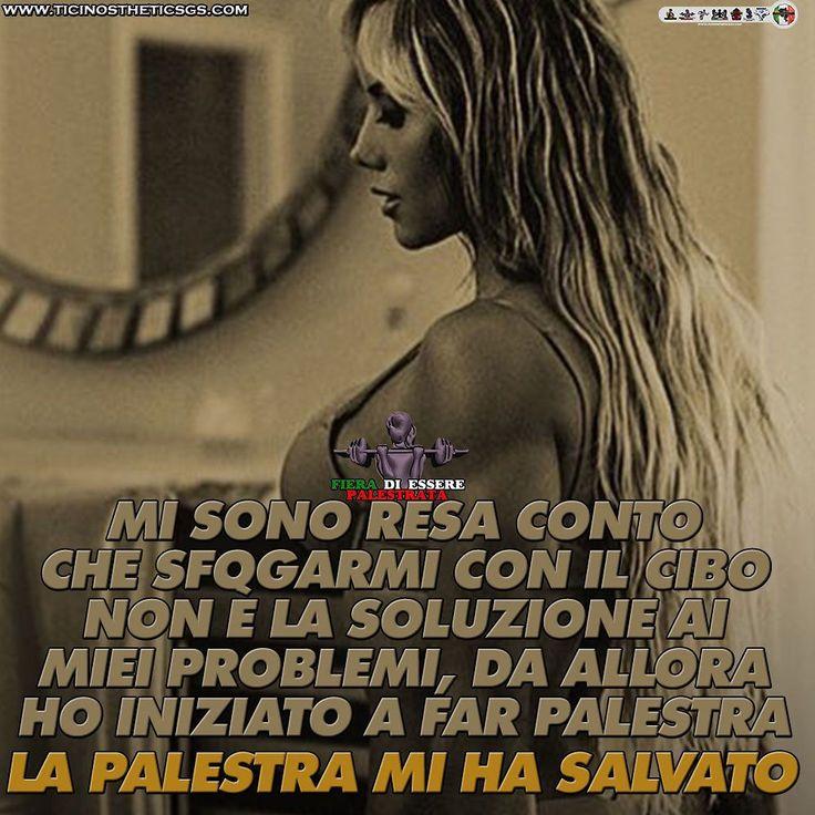 LA PALESTRA MI HA SALVATO E TI PUÒ SALVARE PURE TE  ItalianShredStyle  Il fitness al femminile. Pagina Facebook: http://ift.tt/28TtDw8 #italianshredstyle #shredstyle #palestrata #malatadipalestra #malatadighisa #passionepalestra #pazzadipalestra #ragazza #ragazzapalestrata #glutei #gambe #squat #palestra #motivazione #motivazionale #ghisa #italia #culturista #fitnessgirl #ragazzafitness #bikini #bikinifitness #ragazze #palestrate #pazzedipalestra #malatedipalestra
