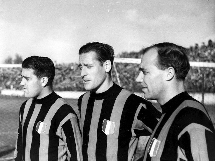 Gunnar Gren, Gunnar Nordahl and Nils Liedholm