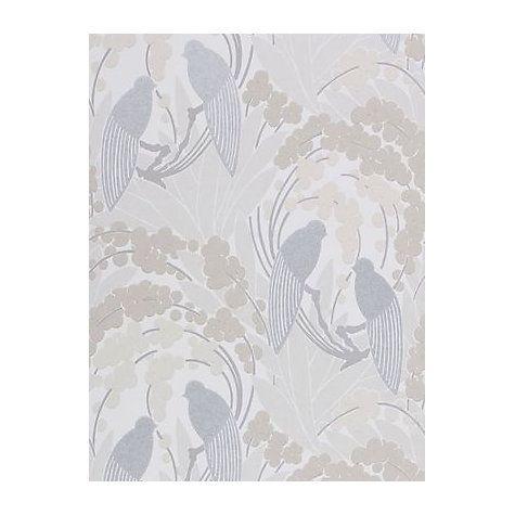 Buy Harlequin Lovebirds Wallpaper   Cappuccino, 60123 Online At  Johnlewis.com