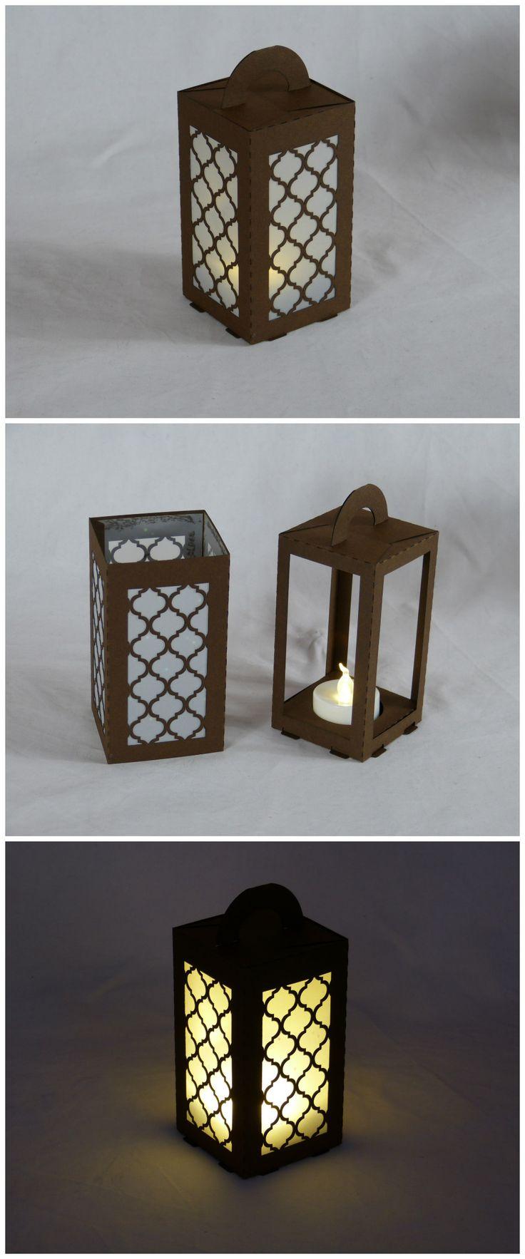 lasercut paper lantern for led tea light moroccan. Black Bedroom Furniture Sets. Home Design Ideas