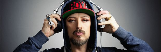 "Boy George TODAY Back in the limelight... 5/2/14   ""Jian speaks with George Alan O'Dowd -- better know as Boy George -- about his new album This Is What I Do -- heralded by some as a successful return to the pop star's glory days. It's the former Culture Club singer's first all-new studio album since 1995 and it marks his return to music after spending time in prison for assault and false imprisonment."" http://www.cbc.ca/q/blog/2014/03/18/boy-george-q/"