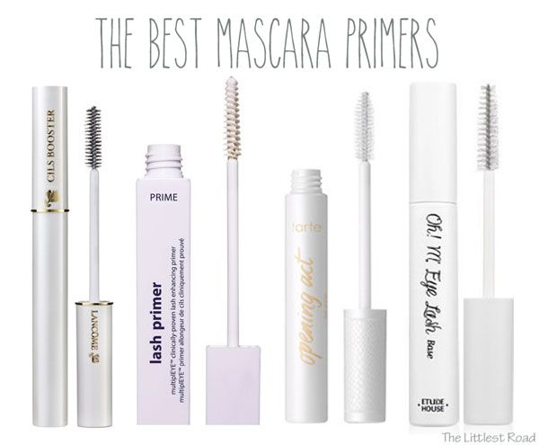 The Best Mascara Primers - on The Littlest Road